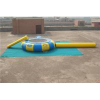 Wholesale Fire Resistance Inflatable Water Games Floating Water Trampoline High Performance from china suppliers