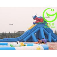 Wholesale High Quality giant inflatable pool slide for adult  with warranty 48months  GTWP-1634 from china suppliers