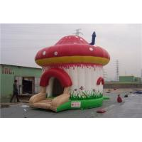 China Dome Tent Shape Inflatable Jumping Castle , Sports Bounce House Anti UV on sale