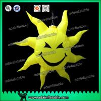 Wholesale Party Hanging Decoration Inflatable Smile Sun Customizd Sun Sphere from china suppliers