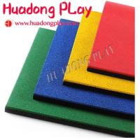 China Nontoxic Playground Floor Mats Long Service Life Sbr Epdm Rubber Easy To Clean on sale