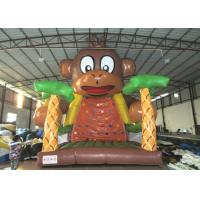 China Kids Big Party Inflatable Rock Climbing Wall Mountain Colourful 6 X 6 X 7.5m on sale
