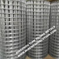 Wholesale 2 X 2 Galvanized Welded Wire Mesh Rolls Anti - Corrosion For Garden Decorative from china suppliers