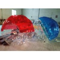 Buy cheap Half Color Durable TPU Inflatable Zorb Bumper Ball / Bubble Soccer Football With from wholesalers