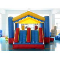 China Birthday Party PVC Inflatable Bounce House With Dual Slide , ASTM F963 UL on sale
