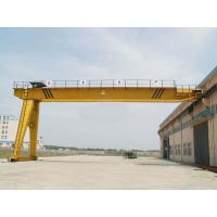 50 T Electric Semi Gantry Crane , Goliath Gantry Cranes For Cement Factory