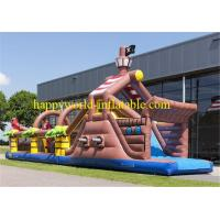 Buy cheap adult inflatable obstacle course , boot camp inflatable obstacle course , from wholesalers