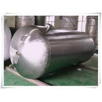 Wholesale Customized Color Horizontal Air Receiver Tanks Carbon Steel / Stainless Steel from china suppliers