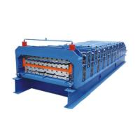 Wholesale Double Layer Metal Roofing Sheet Ibr Roof Panel Roll Forming Machine from china suppliers