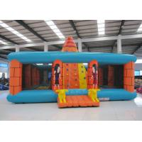 Wholesale Outdoor Amusment Park Inflatable Rock Climbing Wall 8 X 8m 0.55mm Pvc Tarpaulin from china suppliers
