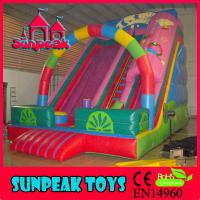 Wholesale SL-288 Colourful Children Commercial Playground Equipment Inflatable Combo Slide from china suppliers