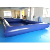 Wholesale ODM Aqua Park Inflatable Water Pool , Above Ground Inflatable Swimming Pools from china suppliers
