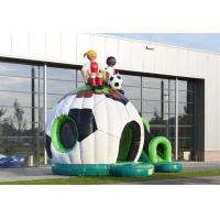 Wholesale Fun Soccer Backyard Inflatable Jumper Bouncer Air Bouncer Inflatable Trampoline from china suppliers