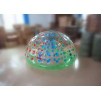 Wholesale PVC / TPU Transparent Inflatable Coconut Balls , Inflatable Island Lounge in 1.8m x 1.2m from china suppliers