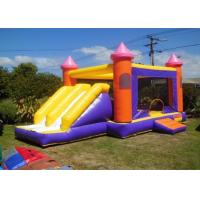 China Children Double Lane Inflatable Combo Castle Bounce House with Slide on sale