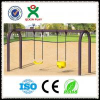 Wholesale kids metal park swing set,Kids Outdoor playground plastic garden swing in playground from china suppliers