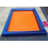 Wholesale Outdoor Blue Inflatable Swimming Pool 6m x 4m Rectangle Blow Up Pool from china suppliers