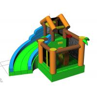 Wholesale Customized Castle Inflatable Bounce House Combos With Jump And Slide from china suppliers