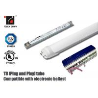 Quality Dimmable T8 LED Tube Light 1200mm Length G13 Base SMD LEDs Light Source for sale