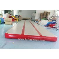 Wholesale 15*2*0.2m Long Tumble Track Inflatable Air Mat For Gymnastics from china suppliers