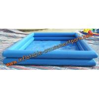 China 0.6 mm Above Ground Inflatable Swimming Pool / Inflatable Water Games on sale