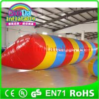 Wholesale Guangzhou QinDa excited water blob, inflatable water blobs for sale, water blob jump from china suppliers