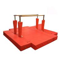 Wholesale Waterproof Gymnastics Equipment Bars Red Fitness Equipment Steel Material from china suppliers