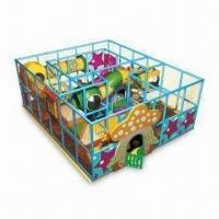 Wholesale Indoor Playground with PVC-coated Foam and Fire-resistant from china suppliers