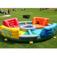 Wholesale Giant Inflatable Sports Games Human Hungry Hippo Chow Down 6 M Diameter from china suppliers