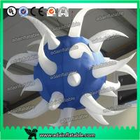 Wholesale White And Blue Club Hanging Decoration Inflatable Star Customized from china suppliers