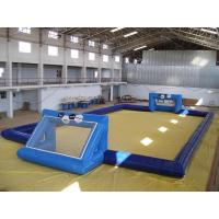 Wholesale commercial inflatable soccer field / soccer pitch for outdoor soccer games from china suppliers