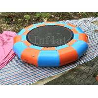 Wholesale Inflatable Trampoline Blow Water Jumping Toy Water bouncer For Kids and Adults from china suppliers