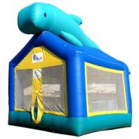 Wholesale OEM Commercial 0.55mm PVC Tarpaulin Inflatable bouncer, Inflatable Jumper Bouncers YHB-045 from china suppliers