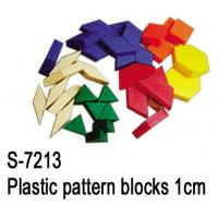 Wholesale Educational Toys, Teaching Aid, Plastic Pattern Block 1cm (S-7213) from china suppliers