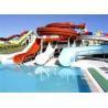 Buy cheap 2m Height Fiberglass Outdoor Aqua Blue Water Park from wholesalers