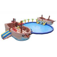 Wholesale Pirate Ship Commercial Inflatable Water Park 0.9mm PVC Tarpaulin Made from china suppliers
