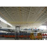 Safety Prefab Stainless Metal Hangar Buildings Airport Hangar Construction