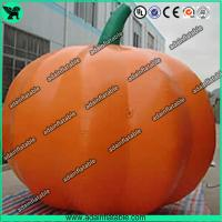 Wholesale Advertising Inflatable Vegetable Model 3m Oxford Inflatable Pumpkin Replica from china suppliers