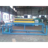 China High Efficiency Steel Roll Mesh Welding Machine For 3mm - 6mm Wire Diameter on sale