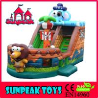 Wholesale SL-357 EN14960 Best Quality Giant Inflatable Jumping Slide,Inflatable Jumping Bouncer from china suppliers
