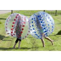 Buy cheap Customized Color Inflatable Bubble Soccer Skill Printing For Entertainment from wholesalers