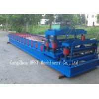 Wholesale Corrugated Roof Tile Roll Forming Machine 350H Steel Hydraulic Cutting from china suppliers