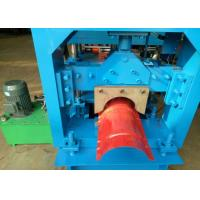 Wholesale PPGI Metal Sheet Ridge Cap Roll Forming Machine With PLC Control from china suppliers