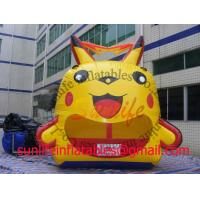 Buy cheap inflatable cartoon ball pool bouncer castle BO131 from wholesalers