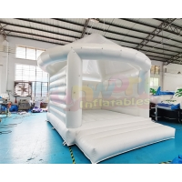 Wholesale 0.55mm PVC Tarpaulin Inflatable Bouncer Wedding Bounce House from china suppliers