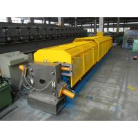 Wholesale Water Pipe Steel Profile gutter forming machine22 Roller stations 300H Beam Frame from china suppliers