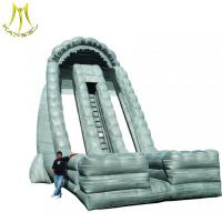 China Hansel  used commercial inflatables inflatable outdoor water park pool slides on sale