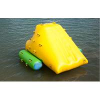 Wholesale Commercial Grade 0.9mm PVC tarpaulin Inflatable Iceberg YHIB 006 for seaside from china suppliers