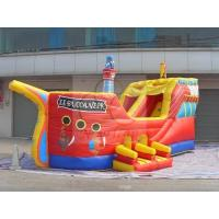 Wholesale Pirate Ship Bouncer, Pirate Ship Slide, Pirate Ship Castle (COM-36) from china suppliers