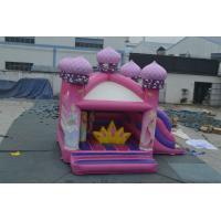Wholesale China factory price inflatable princess bouncy castle 5x5.5m from china suppliers
